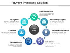 Payment Processing Solutions Ppt PowerPoint Presentation Ideas Information