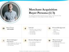 Payment Processor Merchant Acquisition Buyer Persona Cash Themes PDF
