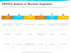 Payment Processor PESTLE Analysis Of Merchant Acquisition Inspiration PDF