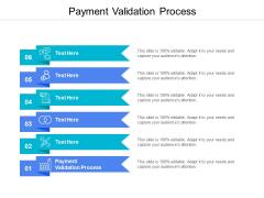 Payment Validation Process Ppt PowerPoint Presentation Portfolio Gridlines Cpb