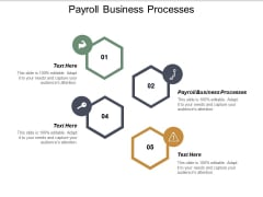 Payroll Business Processes Ppt PowerPoint Presentation Pictures Design Templates Cpb