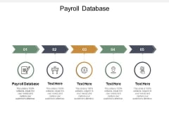 payroll database ppt powerpoint presentation gallery topics cpb