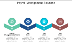 Payroll Management Solutions Ppt PowerPoint Presentation Portfolio Inspiration Cpb