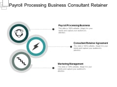 payroll processing business consultant retainer agreement marketing management ppt powerpoint presentation model example