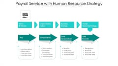 Payroll Service With Human Resource Strategy Ppt PowerPoint Presentation Summary Good PDF