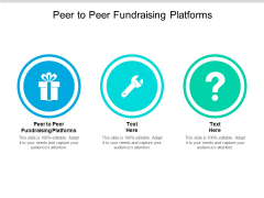 Peer To Peer Fundraising Platforms Ppt PowerPoint Presentation Summary Model Cpb