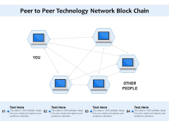 Peer To Peer Technology Network Block Chain Ppt PowerPoint Presentation File Inspiration PDF