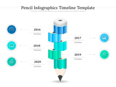 Pencil Infographics Timeline Template Ppt PowerPoint Presentation Icon Graphics PDF