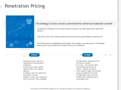 Penetration Pricing Ppt PowerPoint Presentation Outline Guide PDF