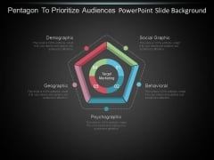 Pentagon To Prioritize Audiences Powerpoint Slide Background