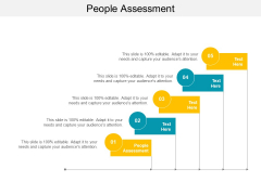 People Assessment Ppt PowerPoint Presentation File Professional Cpb