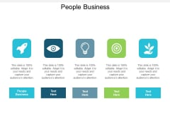 People Business Ppt PowerPoint Presentation File Guidelines Cpb