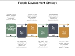 People Development Strategy Ppt PowerPoint Presentation Inspiration Background Cpb