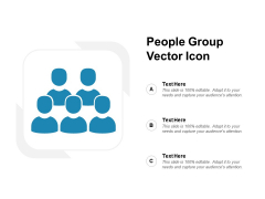 People Group Vector Icon Ppt PowerPoint Presentation Professional Tips