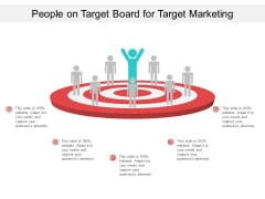 People On Target Board For Target Marketing Ppt PowerPoint Presentation Professional Example Introduction