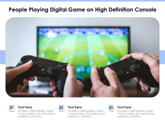 People Playing Digital Game On High Definition Console Ppt PowerPoint Presentation Icon Portfolio PDF