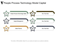 People Process Technology Model Capital Management Sales Finance Ppt PowerPoint Presentation Portfolio Designs Download