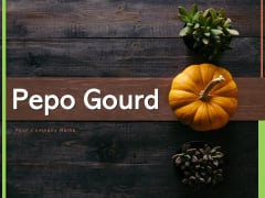 Pepo Gourd Pumpkins Halloween Festival Ppt PowerPoint Presentation Complete Deck