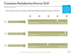 Percentage Share Customer Expenditure Customer Satisfaction Survey Trust Elements PDF