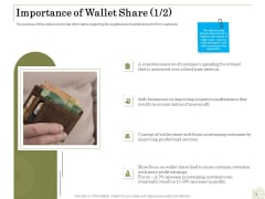 Percentage Share Customer Expenditure Importance Of Wallet Share Aids Rules PDF