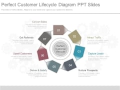 Perfect Customer Lifecycle Diagram Ppt Slides