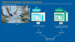 Perform A B Testing To Increase Conversions Introduction PDF