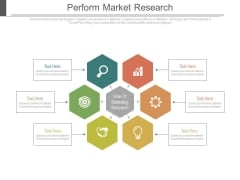 Perform Market Research Ppt Slides