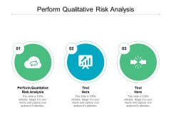 Perform Qualitative Risk Analysis Ppt PowerPoint Presentation Inspiration Introduction Cpb
