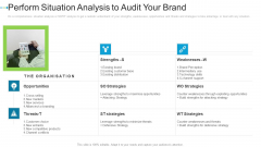 Perform Situation Analysis To Audit Your Brand Internet Marketing Strategies To Grow Your Business Elements PDF