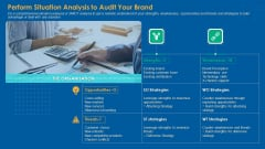 Perform Situation Analysis To Audit Your Brand Pictures PDF