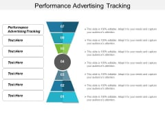 Performance Advertising Tracking Ppt PowerPoint Presentation Infographic Template Templates Cpb
