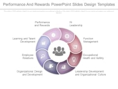Performance And Rewards Powerpoint Slides Design Templates