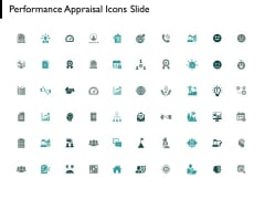 Performance Appraisal Icons Slide Checklist Gears Ppt PowerPoint Presentation Summary Clipart Images