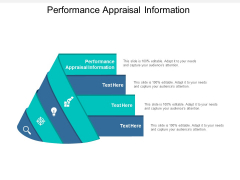 Performance Appraisal Information Ppt PowerPoint Presentation Portfolio Examples Cpb