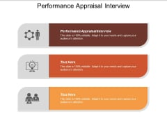 Performance Appraisal Interview Ppt PowerPoint Presentation Summary Vector