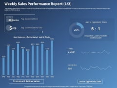 Performance Assessment Sales Initiative Report Weekly Sales Performance Report Value Ppt Styles Themes PDF