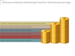 Performance Attribution Methodology Powerpoint Slide Background Image