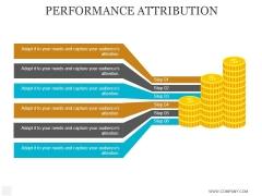Performance Attribution Ppt PowerPoint Presentation Graphics