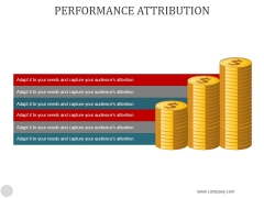Performance Attribution Ppt PowerPoint Presentation Styles