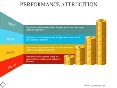 Performance Attribution Template 2 Ppt PowerPoint Presentation Backgrounds