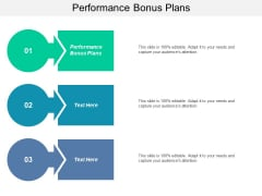 Performance Bonus Plans Ppt PowerPoint Presentation Layouts Graphics Example