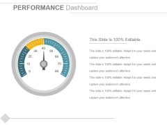 Performance Dashboard Template 1 Ppt PowerPoint Presentation Icon Guidelines
