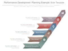 Performance Development Planning Example Slide Template