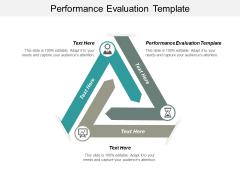 Performance Evaluation Template Ppt PowerPoint Presentation Ideas Skills Cpb