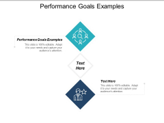 Performance Goals Examples Ppt PowerPoint Presentation Styles Ideas Cpb