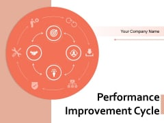 Performance Improvement Cycle Planning Management Ppt PowerPoint Presentation Complete Deck