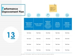Performance Improvement Plan Ppt PowerPoint Presentation Infographic Template Grid