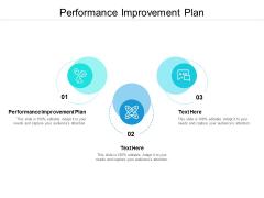 Performance Improvement Plan Ppt PowerPoint Presentation Portfolio Templates Cpb