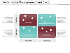 Performance Management Case Study Ppt PowerPoint Presentation Show Vector Cpb