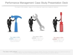 Performance Management Case Study Presentation Deck